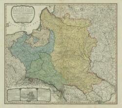 A Map Of The Kingdom Of Poland And Grand Dutchy Of Lithuaniaandhellip Faden 1799