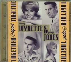 George Jones / Tammy Wynette - Together And Apart - Cd - New - Sealed