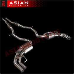 Valved Exhaust Catback For Mercedes Benz S63 S500 S550 Amg Coupe C217 2014 - 17