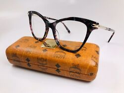 New Mcm2661 614 Marble Wine Butterfly Eyeglasses 52mm With Case