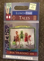 New Disney Trading Pin Lunch Box Lunchtime Tales November 2018 The Muppets