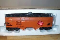 K-line Train K6251-1372 Milwaukee Road Die-cast Two-bay Hopper With Coal Load