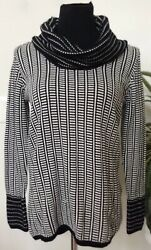 NWT Calvin Women's Birch Black Knit Cowl Neck Pullover Sweater Size S MSRP $89 $50.99