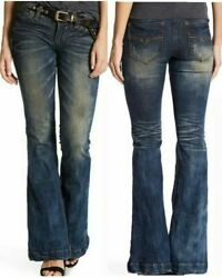 Affliction Womenand039s Denim Jeans Ginger Rising Florenc Embroidered
