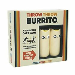 Throw Throw Burrito By Exploding Kittens - A Dodgeball Card Game - Family-friend