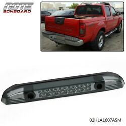Smoked Rear Third 3rd Brake Led Light Lamp For 2001-2004 Nissan Frontier Pickup