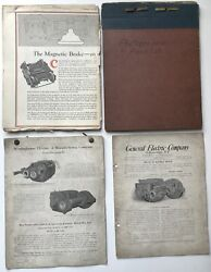 Westinghouse Company / Folder Of Materials On Magnetic Brakes And Machinery