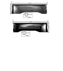 Chevy, Chevrolet Pickup Truck Shortbed Bedside Set Left And Right 1955-1959