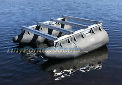 48x60 Micro Pontoon Boat Unmanned Surface Vehicle Frame And Float Kit New