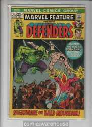 Marvel Feature 1971 Marvel 2 Vg+ A11573
