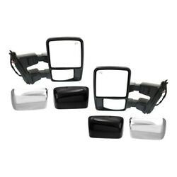 Mirror For 2008-2009 Ford F-350 Super Duty Left And Right Set Of 2