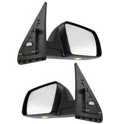 For 07-13 Tundra Power Fold Heat Puddle Signal Lamp Mirror Left Right SET PAIR
