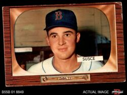1955 Bowman 320 George Susce Red Sox 3 - Vg