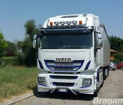 Roof Bar + Leds + Spots + Amber Beacon For Iveco Stralis Cube Hw Active Space