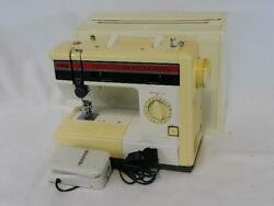 Brother Sewing Machine Vintage 273c With Hard Case And Accessories