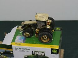 John Deere 7290r Mfwd Toy Tractor 164 Nib Gold Farm Show Edition Chase Chaser