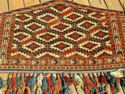 Pair Of Antique 1900 Turkoman Yamout Camel Cover Exceptional Piece