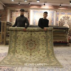 Clearance Yilong 6and039x9and039 Drawing Room Wool Area Rug Parlor Handiwork Carpets 1437