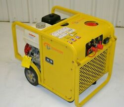 Packer Brothers Hydraulic Power Pack Honda Gx270 5 Gpm 3000 Psi Portable
