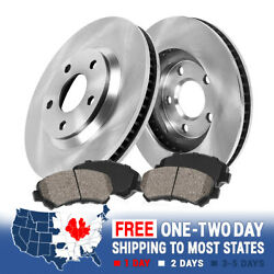 For 2004 2005 2006 2007 2008 Acura Tl Tls Front Brake Rotors And Ceramic Pads
