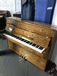 Samick Upright Piano. Immaculate Condition. Beautiful Plays Great.