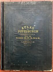 G M Hopkins / Atlas Of The City Of Pittsburgh Vol Iii 3 Comprising Wards 15 17