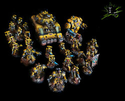 Primaris Imperial Fists Custom Commission Army Warhammer 40k