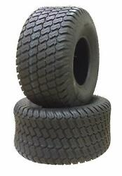 24x12.00-12 Set Of 2 Airloc P332 M/t Turf Tractor Mower Lawn Tires 6 Ply New