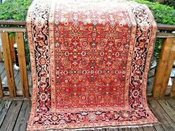 Antique  Armenian Caucasian 1900  Exceptional Rug With Great Colors Good Pile