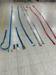 Collection Of E Track Straps And Connectors