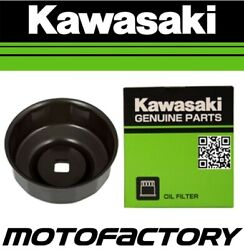 Genuine Oem Oil Filter And Removal Tool Kawasaki Zg1400 Concours Gtr1400 2008-2010