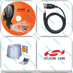 Diagnostic Tool Kit With Chip Sl Cp2102 For Evinrude E-tec Ficht Boat Marine
