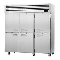 Turbo Air Pro-77-6h Three Section Reach-in Heated Cabinet With Half-size Swing S