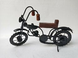 Iron Bike Handmade Miniature Home Decor 30 cm