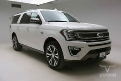 2020 Ford Expedition  2020 Navigation Leather Heated Camera Bluetooth V6 Ecoboost Vernon Auto Group
