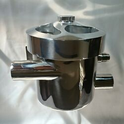 Sea Strainer Stainless Steel With Polished Billet Alum Top