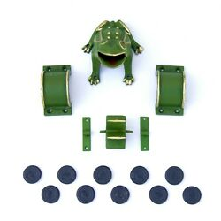 Cadenas ® - Frog Sapo Game, Toad In The Hole Game Cast Iron Frog, Mil, Bridges,
