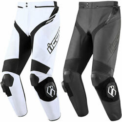 2020 Icon Hypersports 2 Prime Motorcycle Pants - Attack Fit - Pick Size/color