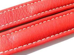 Breitling Band 18mm 18/18 115/80 Red Roja Strap 015-18