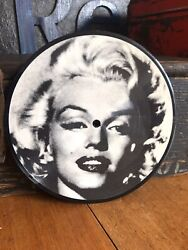 MARILYN MONROE 'When I Fall In Love' 7-Inch Vinyl PICTURE DISC 1987