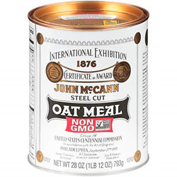 Mccannand039s Irish Oatmeal Traditional Steel Cut 28 Ounce Pack Of 4