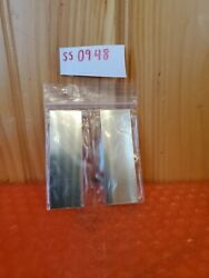 Shim Stock Assortment Stainless Steel 4 Pieces 1 X 3 X 0.010 And 0.015 .010 .015