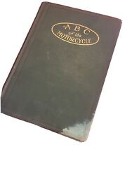 Abc Of The Motorcycle W Jackman Indian Harley Excelsior Manual Pre 16 Original