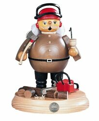 German Incense Smoker Tree Cutter With Power Saw On Support, Heig.. Mu 16185 New