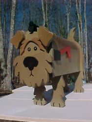 Airedale Dog Mailbox Terriers Custom Mailboxes Dogs Postal Mail Box Pet