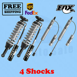 Fox Shocks Kit 4 Front 0-3 And Rear 2-3 Lift For Toyota Tacoma 2005-2020