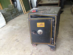 J. Baum Safe And Lock Company Antique Early 1900 Buyer Responsible For Freight