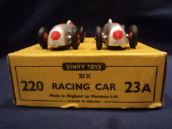 Dinky Toys 1950's Trade Pack Racing Cars No 23a/220 N/mint Superb Wow
