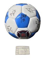 2004 Chicago Fire Vintage Mls Soccer Ball Signed By The Whole Team🔥26 Autos🔥/1