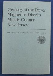 Usgs Sterling Lake Ny Ringwood Nj Iron Mines Vintage 1953 Report With All 5 Maps